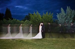 wedding couple walking nightshot cullinan