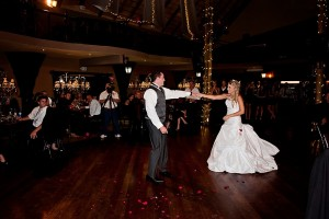 Galagos black and white themed wedding
