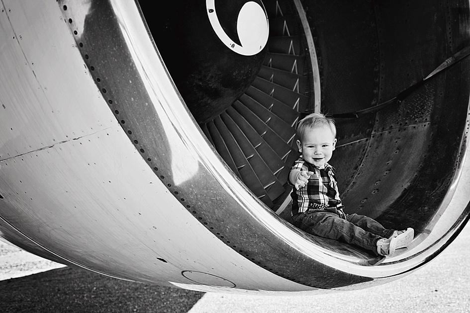 family aviation shoot