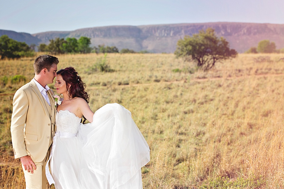 vintage bushveld wedding