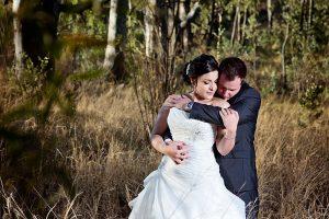 bush wedding photography